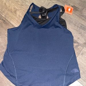 Brand new north face too with built in sports bra